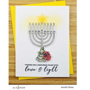 Altenew Love and Light Stamp Set class=