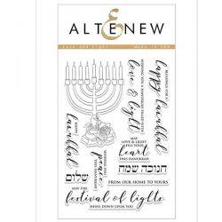 Altenew Love and Light Stamp Set