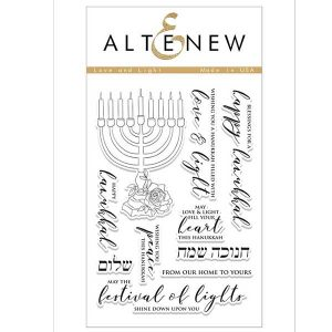 Altenew Love and Light Stamp Set