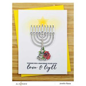 Altenew Blessed Hanukkah Stamp Set class=