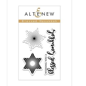 Altenew Blessed Hanukkah Stamp Set