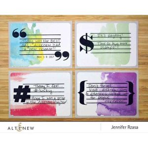 Altenew Bold Type Stamp Set class=