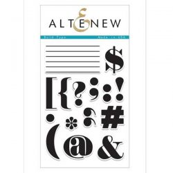Altenew Bold Type Stamp Set