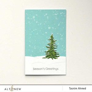 Altenew Snowing Stamp Set class=