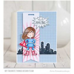 My Favorite Things BB You're Super Stamp Set