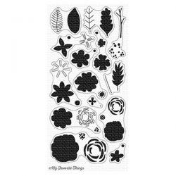 My Favorite Things More Rustic Wildflowers Stamp Set