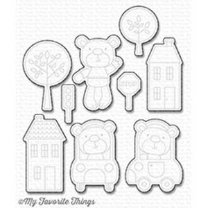 My Favorite Things Town Bear Die-namics