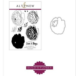 Altenew Build A Flower: Ranunculus Stamp and Die Set