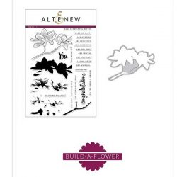 Altenew Build A Flower: Magnolia Stamp and Die Set