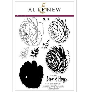 Altenew Build A Flower: Ranunculus Stamp and Die Set class=
