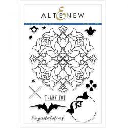 Altenew Arabesque Medallion Stamp Set