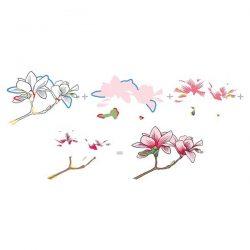 Altenew Build A Flower: Magnolia Stamp and Die Set