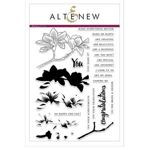Altenew Build A Flower: Magnolia Stamp and Die Set class=