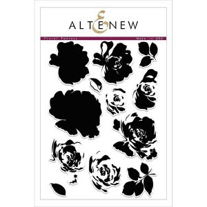 Altenew Floral Fantasy Stamp Set