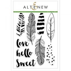 Altenew Golden Feather Stamp Set