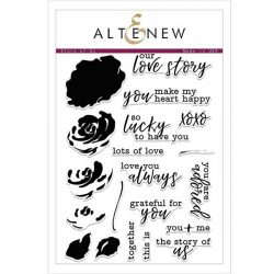 Altenew Story of Us Stamp Set
