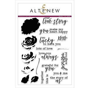 Altenew Story of Us Stamp Set