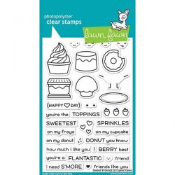 Lawn Fawn Sweet Friends Stamp Set
