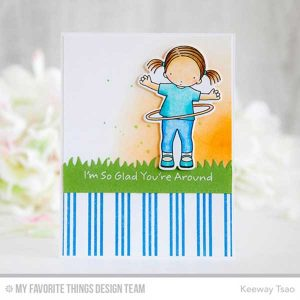 My Favorite Things Triple Stripe Background Stamp class=