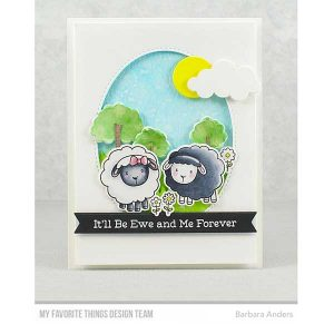 My Favorite Things Ewe and Me Forever Stamp Set class=