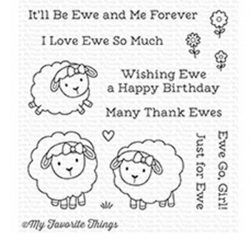 My Favorite Things Ewe and Me Forever Stamp Set