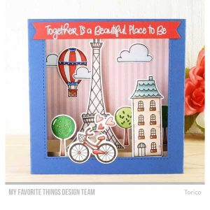 My Favorite Things In Paris Stamp Set class=