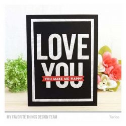 My Favorite Things From The Heart Stamp Set