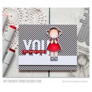My Favortie Things Pure Innocence Blowing Kisses Stamp Set class=