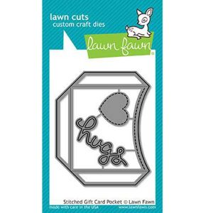 Lawn Fawn Stitched Gift Card Pocket Lawn Cuts