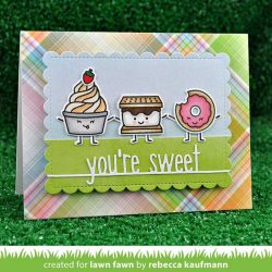 Lawn Fawn You-re Sweet Line Border