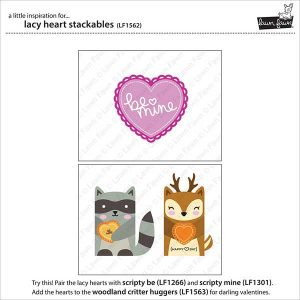 Lawn Fawn Lacy Heart Stackables Lawn Cuts class=