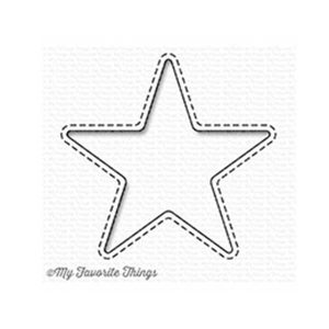 My Favorite Things Stitched Star Peek-a-Boo Window Die