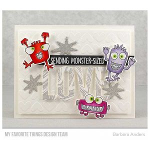 My Favorite Things Monster Sized Stamp Set class=