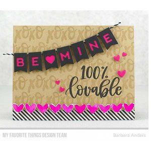 My Favorite Things Be Mine Banner Die-namics class=