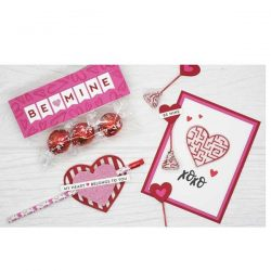 My Favorite Things Heart Maze Shapes – Wild Cherry
