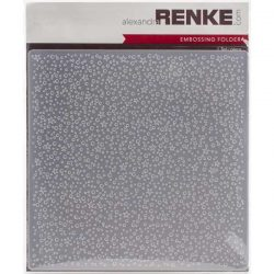 Alexandra Renke Dotted with Stars Embossing Folder