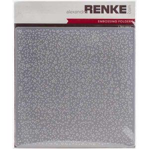 Alexandra Renke Dotted with Stars Embossing Folder