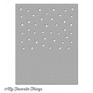 My Favorite Things Starry Sky Horizontal Stencil