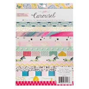Maggie Holmes Carousel Paper Pad – 6″ x 8″