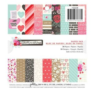 "Pebbles Forever My Always Paper Pak - 6"" x 6"" class="