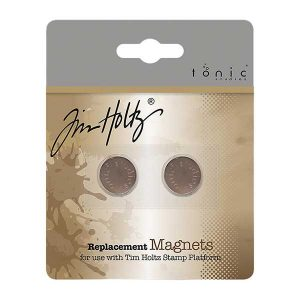 Tim Holtz Stamping Platform Replacement Magnets 2/Pkg