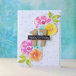 Altenew Birthday Builder Stamp Set class=
