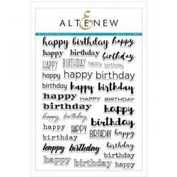 Altenew Birthday Builder Stamp Set