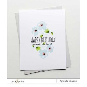 Altenew Frosted Garden Stamp Set class=