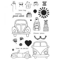 Flora & Fauna Love Bug Stamp Set