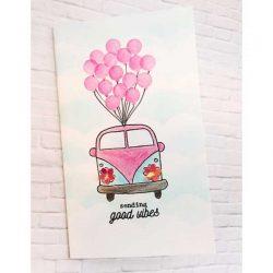 Flora & Fauna Love Bug Stamp Set