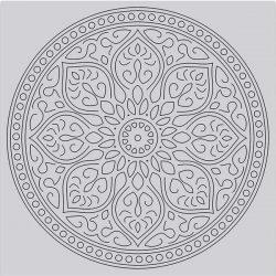 Hero Arts Mandala Bold Print