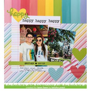 Lawn Fawn Happy Happy Happy Add-on: Family Stamp Set class=
