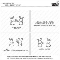 Lawn Fawn Some Bunny Stamp Set