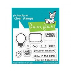 Lawn Fawn Lights Out Stamp Set
